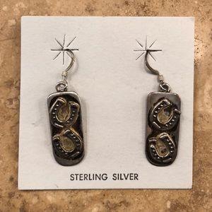 Jewelry - Sterling Silver Horseshoe Earrings